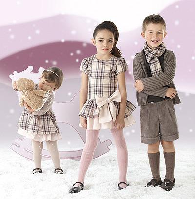 Coleción de ropa infantil Condor