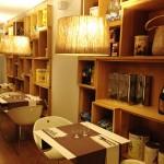 La Botiga en Barcelona. Restaurante con los ingredientes a la vista