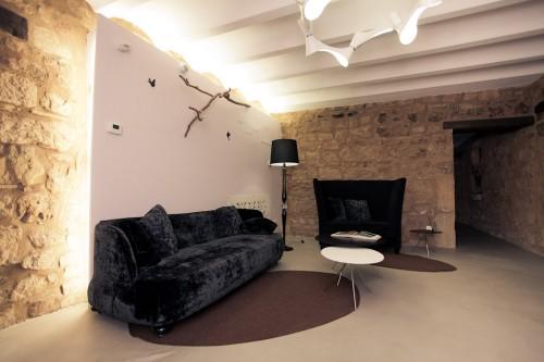 Zona de relax con sofás