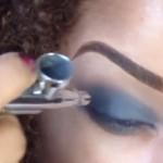 Maquillaje con aerógrafo : guapa y bronceada todo el año