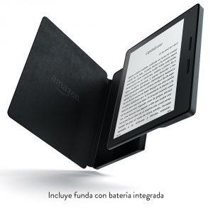 Kindle Oaisis con bateria en la funda