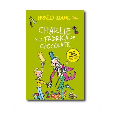 Charlie y la fábrica de chocolate portada