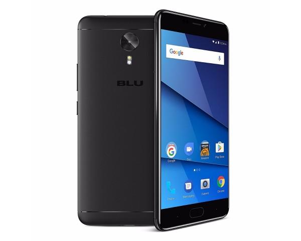 smartphone blu negro